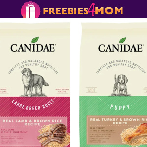 🐶Free 7 lb bag of Canidae Dog Food at Petco