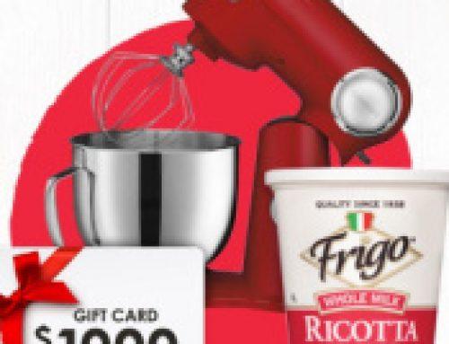 🧀Sweeps Frigo Cheese Lotta Ricotta (9 Daily Winners)