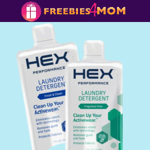 📢Free Sample Hex Laundry Detergent