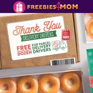 🍩Free Dozen at Krispy Kreme for Mail & Package Drivers