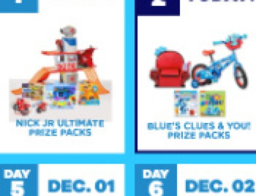 🎅Sweeps 12 Days of Nick Jr. Holiday (12 daily winners)