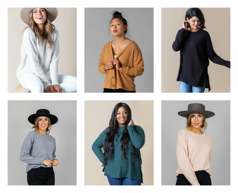 🍁Over 50% Off Waffle Knit Sweaters (Prices Start at $17.99)