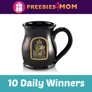 Sweeps Bones Coffee Mug Giveaway (10 Daily Winners)