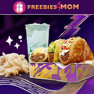 🌮Free $5 Chalupa Cravings Box at Taco Bell (New Accounts)