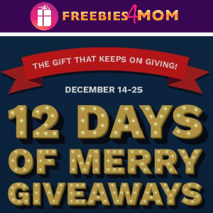 🎁Sweeps Cinemark's 12 Days of Merry Giveaways