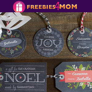 🎅Free Christmas Printable: Customizable Chalkboard Gift Tags