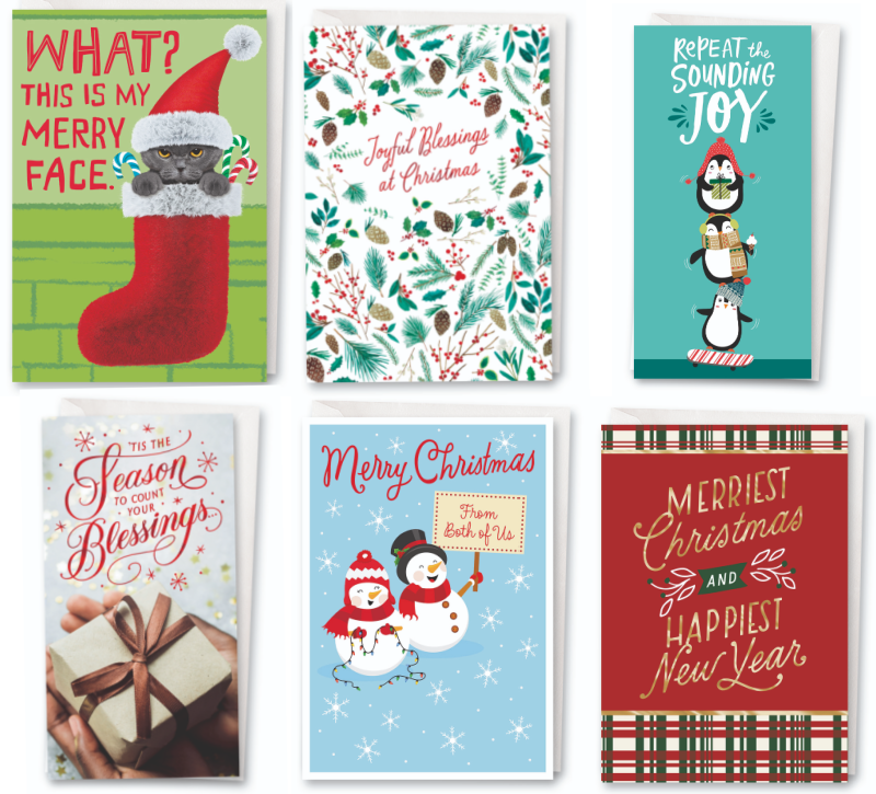 🎅Hallmark Cards at Dollar Tree (starting at 2 for $1)