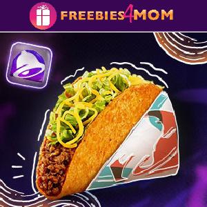 🌮Free Doritos Locos Taco at Taco Bell (New Accounts)