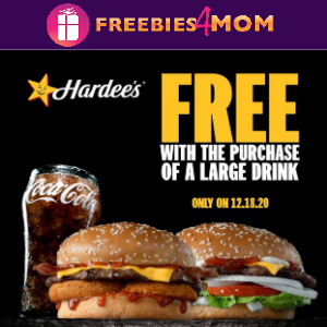 ⭐️Free Western or Famous Star at Hardee's Dec. 18