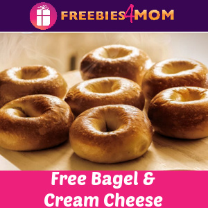 🥯Free Bagel & Cream Cheese At Bruegger's (With Any Puchase)