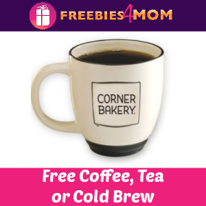 ☕️Free Coffee, Tea or Cold Brew Daily at Corner Bakery