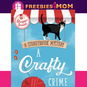 🧶Free eBook: A Crafty Crime ($2.99 value)