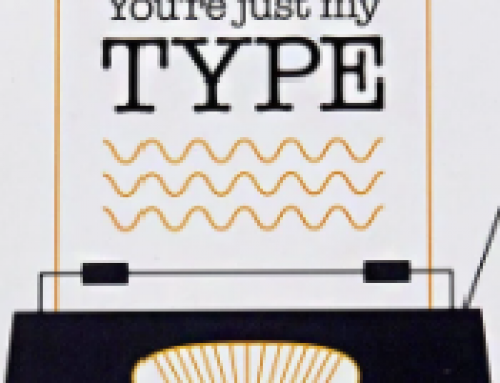 "💛Free Printable Valentine Card ""You're just my type"""