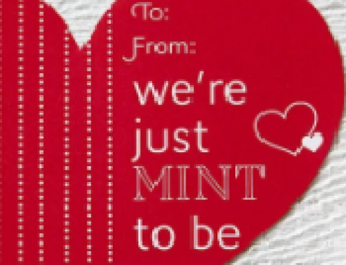 "🍬Free Printable Valentines ""We're Just Mint To Be"""