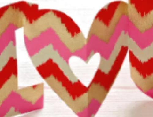 💜Free Printable Valentines Accordian-Style