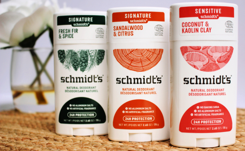 Save $1.50 on Schmidt's Natural Deodorant at H-E-B