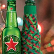 Heineken Holiday Koozie