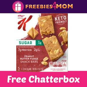 🥜Kellogg's Special K Keto Friendly Bars Chatterbox