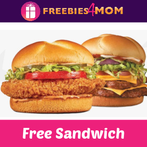 🍔Free Mother Cruncher or Big Buford at Checkers or Rally's