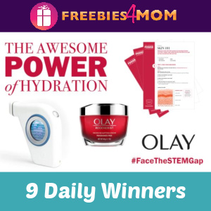 🔬Sweeps Olay Face The STEM Gap (9 Daily Winners)