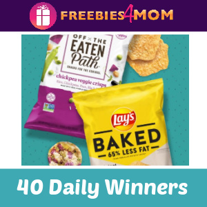 🎵Sweeps Frito-Lay Snack a Little Smarter (40 Daily Winners)