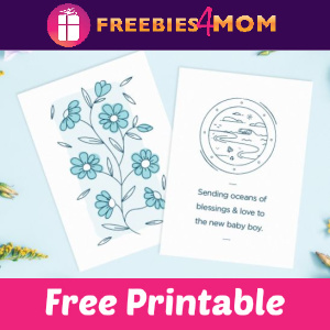 👶Free Printable Baby Wishes & Printable Cards