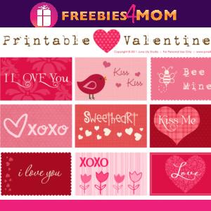 💞Free Printable Valentines (12 per sheet)