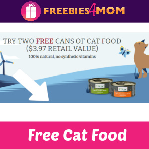 🐱Free 2 cans of Nature's Logic Cat Food