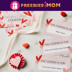 💘Free Printable Valentines Coupons
