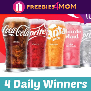 🌈Sweeps Coca-Cola Freestyle Be You Be Refreshed