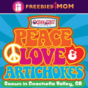 ✌️Sweeps Ocean Mist Farms Peace, Love & Artichokes