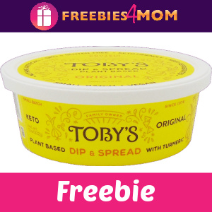 🌿Free Toby's Plant Based Dip & Spread
