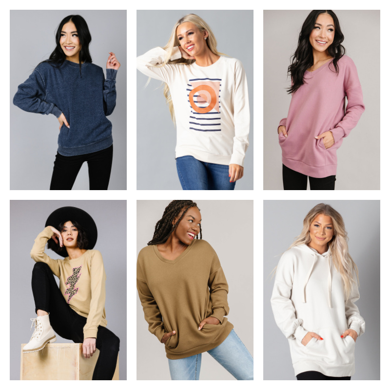 🌈Sweatshirt & Hoodie Collection Starting at Only $15.99