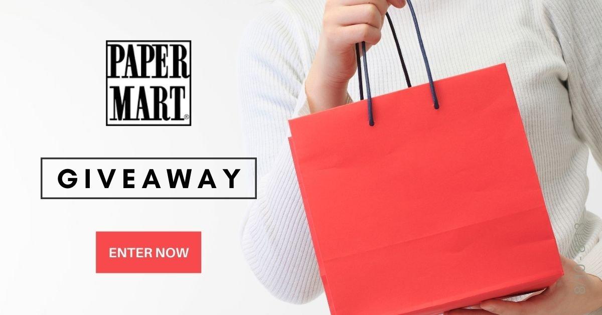 💐Win a $20 Paper Mart e-Gift Code (10 winners)
