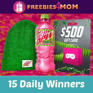 🍀Sweeps Operation Mtn Dew Major Melon (15 Daily Winners)