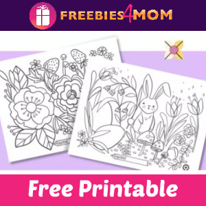 🐰Free Easter Placemat Coloring Pages