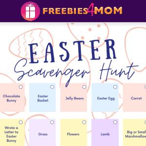 🐇Free Printable Easter Scavenger Hunt