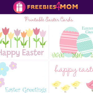 🐇Free Printable Easter Cards