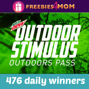 🌲Sweeps Mtn Dew Outdoor Stimulus (476 daily winners)