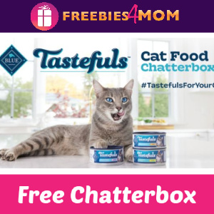 🐱Free Chatterbox Blue Buffalo Tastefuls Cat Food
