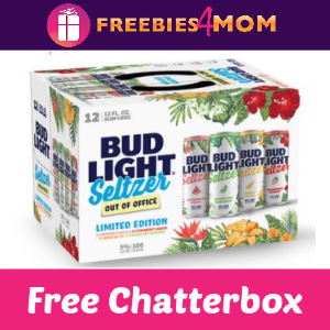 🌞Free Chatterbox Bud Light Seltzer Out of Office