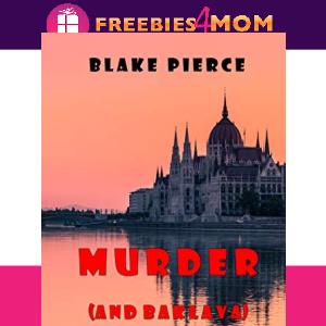 Free eBook: Murder (and Baklava) ($2.99 value)