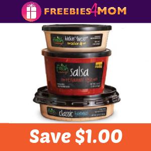 🍅Save $1.00 Off Any Fresh Cravings Salsa, Dip or Hummus