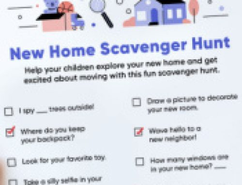 🏠Free Printable New Home Scavenger Hunt
