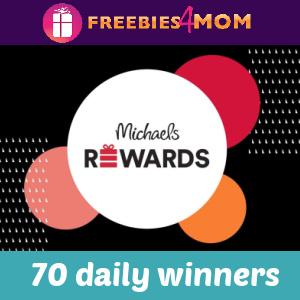 🎁Sweeps Michaels Rewards Appreciation Days