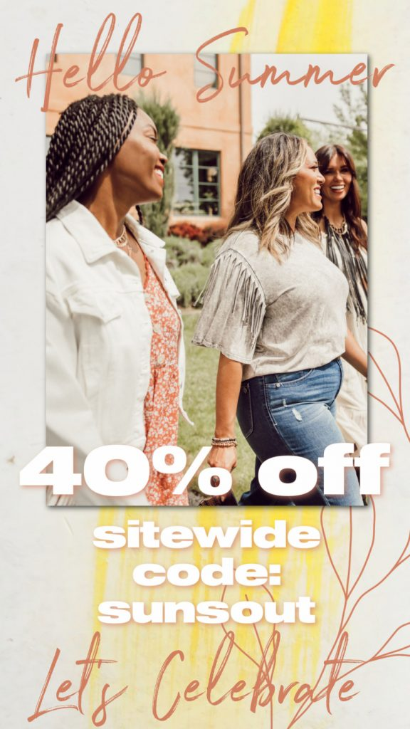 👒40% off Sitewide at Cents of Style