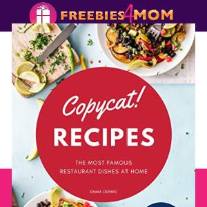 🍲Free eBook: Copycat Recipes ($3.99 Value)