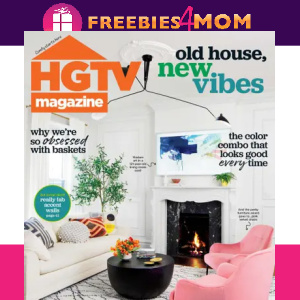 🏡HGTV Magazine $11.95