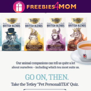 🦉Tetley Tea Pet PersonaliTEA Sweeps (ends 8/15)