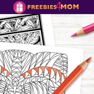 🦋Free Printable Adult Coloring: Faber-Castell